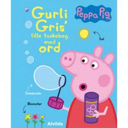 Peppa Pig - Gurli Gris' lille taskebog med ord (bog med håndtag)