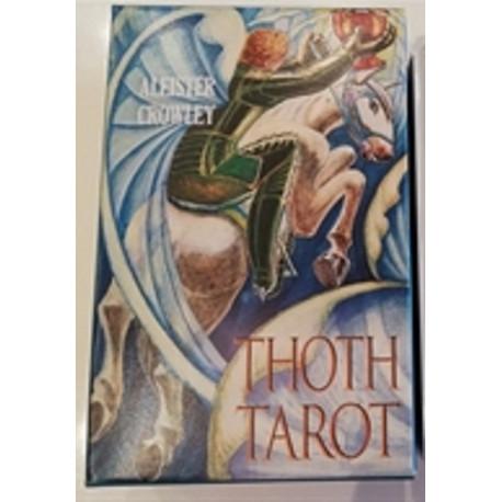 Tarotkort. Aleister Crowley Tarot Standard, blå