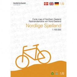 Nordlige Sjælland cykelkort: Kort 1