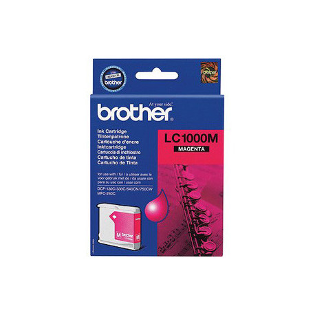 Brother LC1000M ink cartridge magenta (LC1000M)