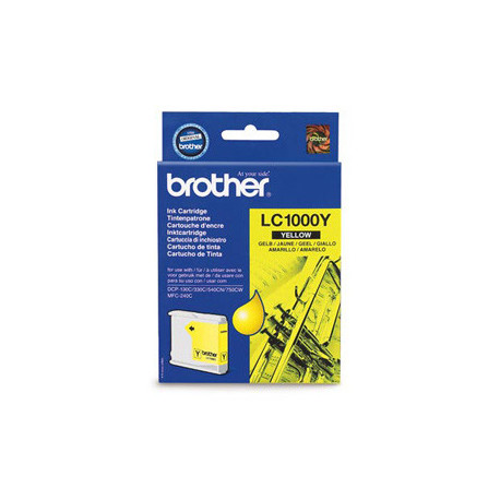 Brother LC1000Y ink cartridge yellow (LC1000Y)