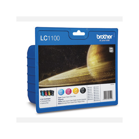 Brother LC1100V ink cartridge value blister (LC1100VALBPDR)
