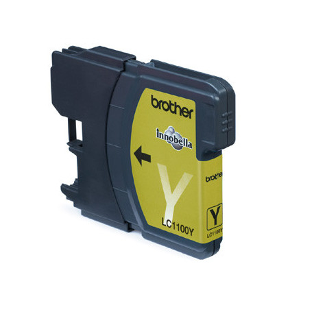 Brother LC1100Y ink cartridge yellow (LC1100Y)
