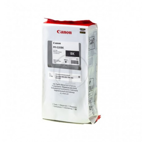 Canon PFI-320BK Black Printcartdridge 300ml (2890C001)