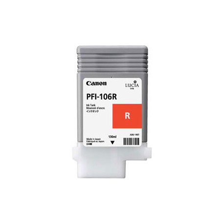 Canon PFI-105R/106R red ink (6627B001)