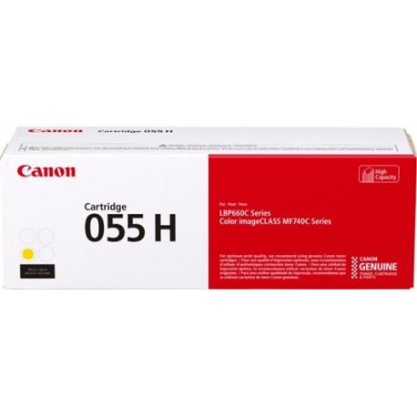 Canon CLBP 055 Yellow Hi cap Toner Cartridge 5.9K (3017C002)