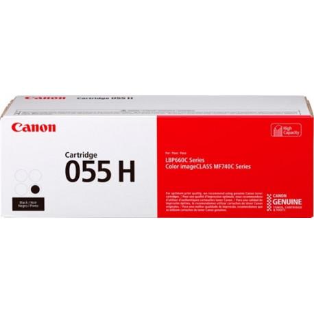 Canon CLBP 055 Black Hi cap Toner Cartridge 7.6K (3020C002)