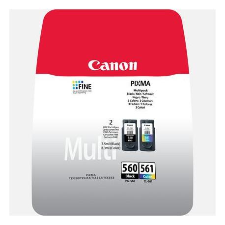 Canon CRG PG-560/CL-561 MULTI Black & Colour Cartridges blistered (3713C005)