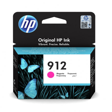 HP 912 Magenta Ink Cartridge (3YL78AE-BGX)