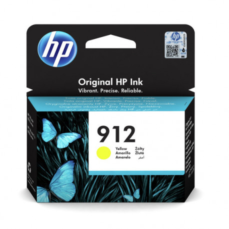 HP 912 Yellow Ink Cartridge (3YL79AE-BGX)