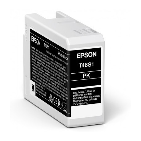 Epson C13T46S100 Photo Black Ink Cartridge (C13T46S100)
