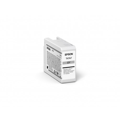 Epson C13T47A700 Gray Ink Cartridge (C13T47A700)