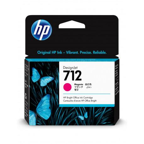 HP 712 29mlMagenta DesignJet Ink Cartridge (3ED68A)