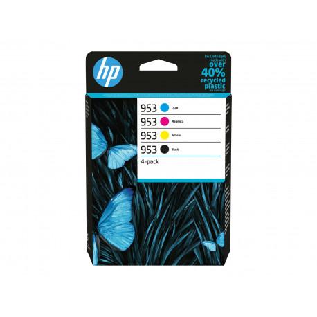 HP No953 C/M/Y/K Ink Cartridges 4-pack (6ZC69AE)