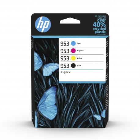 HP No953 C/M/Y/K Ink Cartridges 4-pack Blistered (6ZC69AE-301)