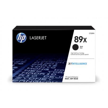 HP LaserJet 89X Black Toner Cartridge 10K (CF289X)