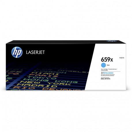 HP 659X  High Yield Cyan LaserJet Toner Cartridge 29k (W2011X)