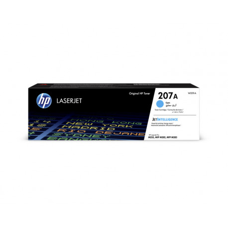 HP 207A Cyan LaserJet Toner Cartridge 1,25k (W2211A)