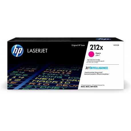 HP 212X Magenta LaserJet Toner Cartridge 10K (W2123X)