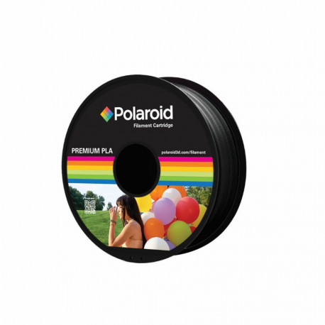 Polaroid 1Kg Universal Premium PLA 1,75mm Filament Black (PL-8008-00)
