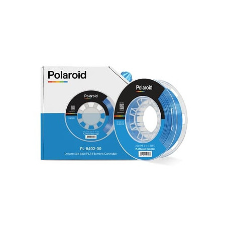 Polaroid 250g Deluxe Silk PLA 1,75mm Filament Blue (PL-8402-00)