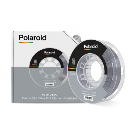 Polaroid 250g Deluxe Silk PLA 1,75mm Filament Silver (PL-8404-00)