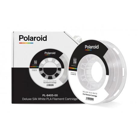 Polaroid 250g Deluxe Silk PLA 1,75mm Filament White (PL-8405-00)
