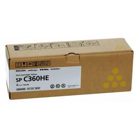 RICOH Toner Yellow SPC360/C361 5k (408187)