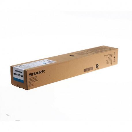 Sharp MX61GTCA Cyan Toner 24K (MX61GTCA)