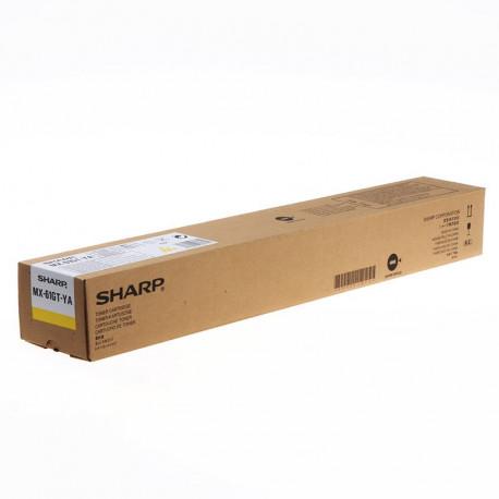 Sharp MX61GTYA Yellow Toner 24K (MX61GTYA)