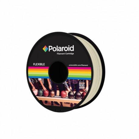 Polaroid 1Kg Universal FLEXIBLE Filament Material Natural (PL-8501-00)