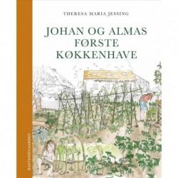 Johan og Almas første køkkenhave