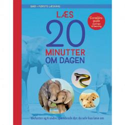 GAD - Første læsning: Læs 20 minutter om dagen: Elefanter og 6 andre spændende dyr, du selv kan læse om