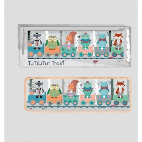 Tut Tut Train: Forest Friends