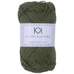 8/4 Olive Green - KK Color Cotton økologisk bomuldsgarn fra Karen Klarbæk