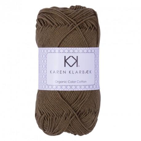 8/4 Khaki Green - KK Color Cotton økologisk bomuldsgarn fra Karen Klarbæk