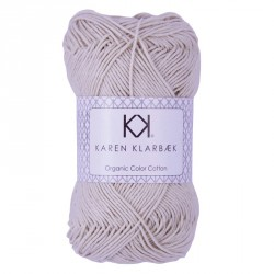 8/4 Warm Nature White - KK Color Cotton økologisk bomuldsgarn fra Karen Klarbæk