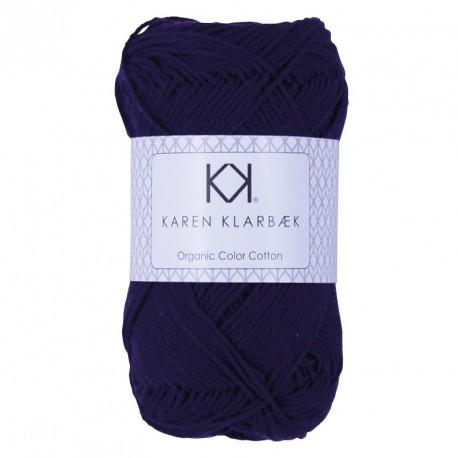 /4 Dark Lilac - KK Color Cotton økologisk bomuldsgarn fra Karen Klarbæk