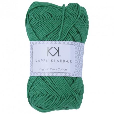 8/4 Jolly Green - KK Color Cotton økologisk bomuldsgarn fra Karen Klarbæk