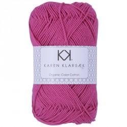 8/4 Hot Pink - KK Color Cotton økologisk bomuldsgarn fra Karen Klarbæk