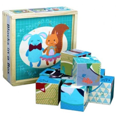 Blocks in a box: Forest Friends