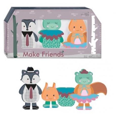 Make Cute Friends: Forest Friends