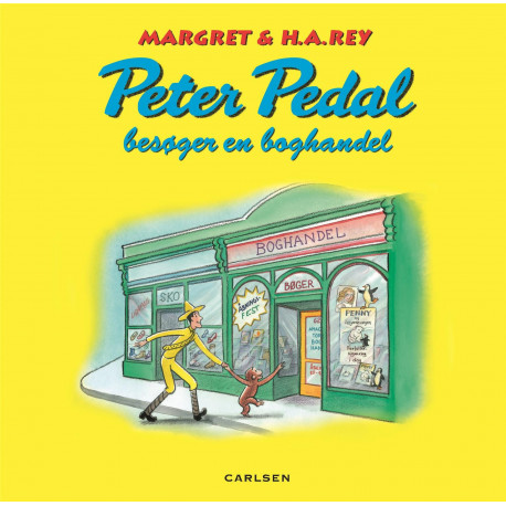 Peter Pedal besøger en boghandel