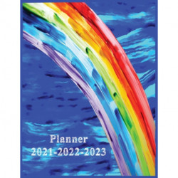 Planner 2021-2022-2023: Weekly and Monthly Planner and Organizer Calendar Schedule 2021-2022-2023 Academic Planner Large