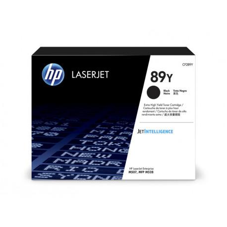 HP LaserJet 89Y Black Toner Cartridge 20K (CF289Y)
