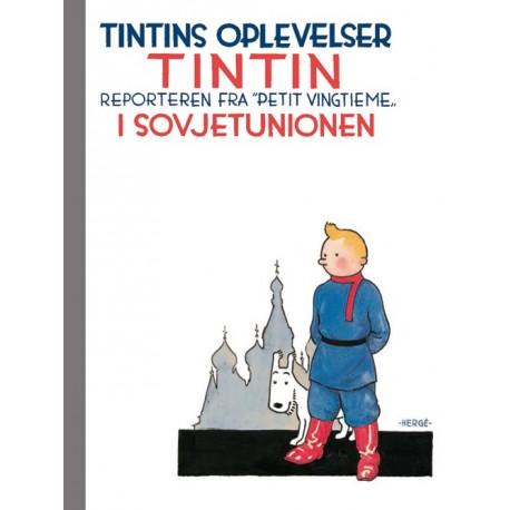 """Tintins oplevelser - reporteren fra Petit """"vingtième"""" i Sovjetunionen"""