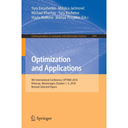 Optimization and Applications: 9th International Conference, OPTIMA 2018, Petrovac, Montenegro, October 1-5, 2018, Revised Selected Papers