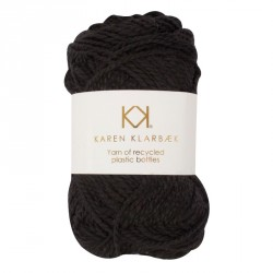 Black - Recycled Bottle Yarn