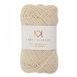 Nature White - Recycled Bottle Yarn