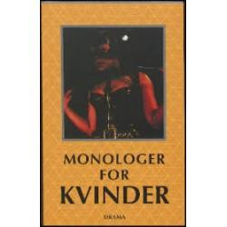 Monologer for kvinder - en antologi